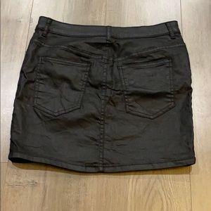 Divided Skirts - Divided black wax skirt - Sz. 6